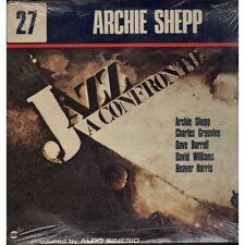 Archie Archie Shepp Lp Vinyle Jazz A Confronto 27 / Horo Records Fermé