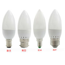 E14 E27 B22 B15 3W 4W 5W 6W 7W 9W LED SMD/Filament Candle Bulbs Light Globe Lamp