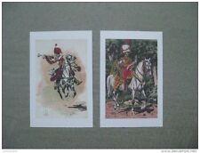 Affiches : trompettes à cheval de Hussards premier empire
