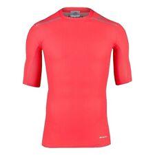 adidas Techfit Chill SS Tee Kompressionsshirt Funktions-Shirt Training Koralle