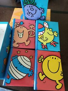 Mr Men & Little Miss box set of Photo Albums. Used but in Excellent Condition