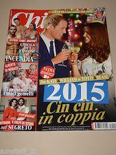 CHI 2015/2=KATE MIDDLETON=WILLIAM=ALESSIA MARCUZZI=IL SEGRETO=ISOLA DEI FAMOSI=