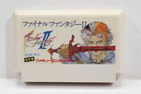 Final Fantasy II 2 Nintendo FC Famicom NES Japan Import US Seller F2880