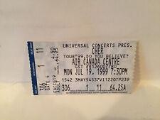 Cher Concert Ticket Stub 7-19-1999 Toronto