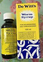 De Witt's Worm Syrup Round Worm & Thread Worm Syrup (100 ml)