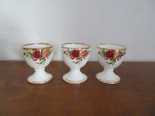 3 Eierbecher  Old Country Roses * Royal Albert * Bone China *  England w. NEU