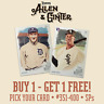 2019 TOPPS ALLEN & GINTER - YOU PICK YOUR CARD #351-400 SPs - BUY 1 GET 1 FREE!