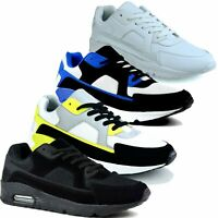 Mens Air Bubble Trainers Shock Absorbing Running Gym Shoes Size