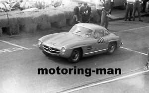 1962 1963 MERCEDES 300SL WPG4 BRIGHTON SPEED TRIALS VERY RARE NEW PHOTOGRAPH