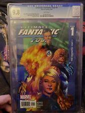 CGC UNIVERSAL GRADE 9.8 Ultimate Fantastic Four Issue 1 Bendis Mark Millar