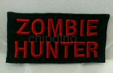 ZOMBIE HUNTER TACTICAL IRON ON PATCH