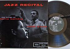 Billie Holiday, Ralph Burns  Jazz Recital /  LP Verve Records V-8098 / US 1958