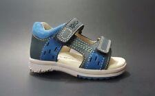 New $80 Kickers Baby Boys Leather Strap Sandals Fashion Size 4,5 Usa/20 Euro