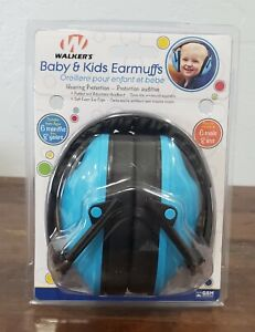 Walker's Children Baby Toddler Noise Reduction Ear muffs Hearing Protection BLUE