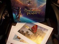 2002 Disney TREASURE PLANET Set of Lithos MINT!