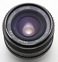 Yashica Auto Yashinon DS-M 1:2.8 2.8 28 mm 28mm - M42 Anschluss