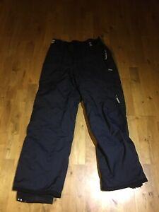 Bonfire Ski Snowboarding Pants Trousers Salopettes Navy Blue Mens Size M, USA M