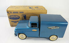 Vintage1960 Blue Tonka No. 1 Service Pickup Truck with Original Box Mound Minn.