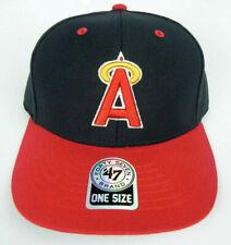 CALIFORNIA ANAHEIM LA ANGELS MLB VINTAGE STRAPBACK LA RETRO CAP HAT NWT 47 RARE!