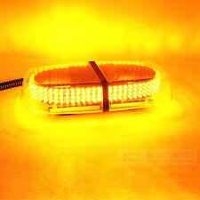 Hot Roof Top Yellow Amber Light Bar Emergency Hazard Warning Flash Strobe 240