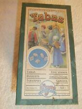 Jacks Vtg Game Tabas 5 Stones. Original Box /instructions and carry bag, Spain