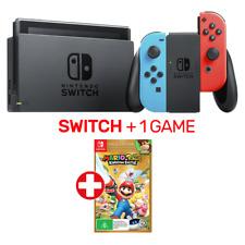 Nintendo Switch Neon Console + 1 Game - Nintendo Switch - BRAND NEW
