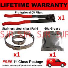 Guardapolvos para Cv Interior Pinzas Par Interno y X 1 Engrase 1 Alicates 1 Kit