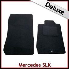 Mercedes SLK R170 1996-2004 A Medida De Lujo 1300g Alfombra Tapetes Coche Negro