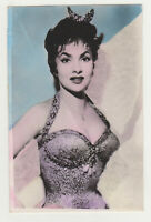 GINA LOLLOBRIGIDA Actress Movie Vintage Original Old Photo Postcard Color