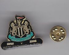 Newcastle United v West Bromwich Albion 2004-05 - lapel badge butterly fitting