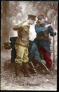 WW1- FRENCH PATRIOTIC POSTCARD