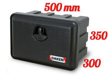 DAKEN Just 500 R Coffre a outils 30L Boîte De Rangement Camions Boîte à outils