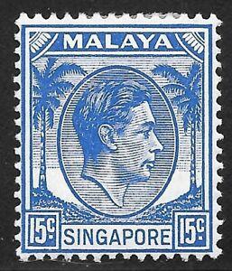 Singapore  (1948)  - Scott # 11,    MH