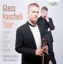 Glass, Kancheli, Tr: Music for Violin and Piano (CD, Sep-2014, Brilliant Class