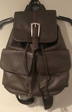 Unlisted, A Kenneth Cole Production Leather Look Backpack Purse