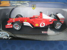 Ferrari f2002 Schumacher 1:18 Hot Wheels