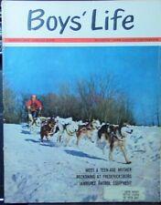 Boys' Life Magazine: January, 1964 Issue-BSA/Boy Scouts
