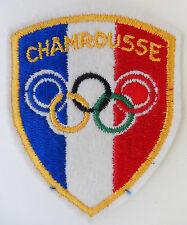 TIS 041 - INSIGNE TISSU - JEUX OLYMPIQUES D'HIVER - CHAMROUSSE