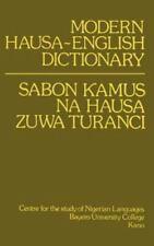Modern Hausa-English Dictionary (1988, Paperback)