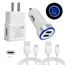 New listing For Google Pixel 6 5 4 3 4a 3a 5a Cell Phone Usb Car Wall Charger Type C Cable