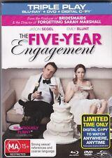 The Five-Year Engagement - Blu-Ray +DVD + Digital (Brand New Sealed) Region B