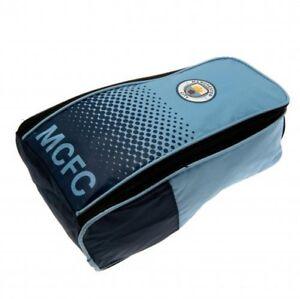 Manchester City Official Bootbag P.E Bag Blue Swimming Kit Man City