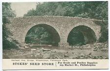 PHILADELPHIA PA VINTAGE ADVERTISING POSTCARD  Stokes Seed Store