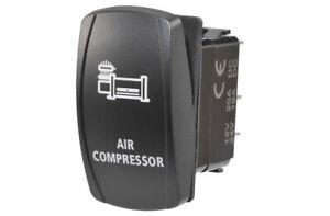 Narva Rocker Switch Air Compressor 12/24V Blue LED 63228BL