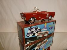 KEN KOVACH XONEX CLEVE - PEDAL CAR FORD MUSTANG 64½ - RED - EXCELLENT IN BOX