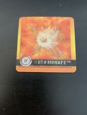 Mankey/Primeape Pokemon Artbox Action Flipz Card