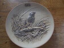 Birds Poole Pottery