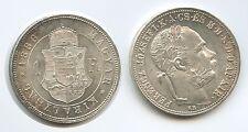 G5655 - Hungary 1 Forint 1883 KB Kremnitz KM#469 XF-UNC Franz Joseph I.1848-1916