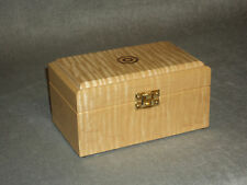 Hemingway Tiger-Striped Maple Cartridge Box for Target Shooters - .22