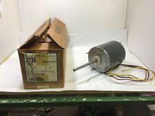 Ge 5KCP39SGL938S 3/4 HP 208-230 Volts HVAC Motor 1075 Rpm TENV 4.70 Amps